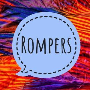 Pants - Rompers Here!
